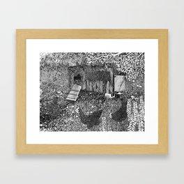 Hen House Framed Art Print