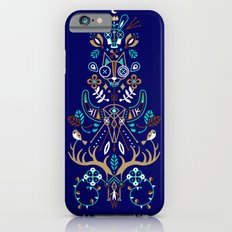 La Vie & La Mort – Navy iPhone 6s Slim Case
