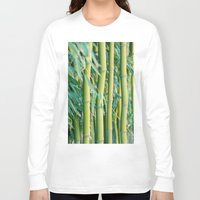 bamboo Long Sleeve T-shirts featuring Bamboo by Laura Ruth