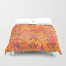 Recursive Triangles Warm Duvet Cover