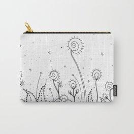 Doodle Cactus Art Illustration Carry-All Pouch