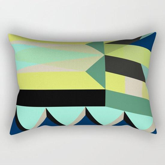 Geometric#25 Rectangular Pillow