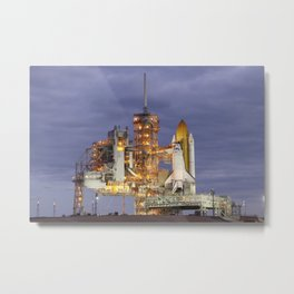 741. STS-133 Payload Canister onboard Space Shuttle Discovery Metal Print