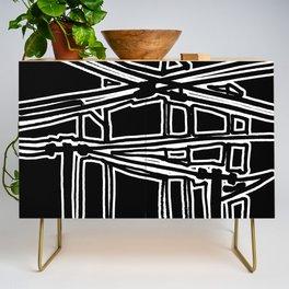 electric cords- urban view Credenza