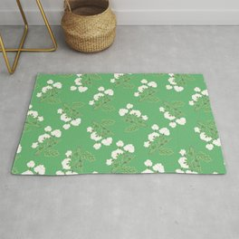 Cotton flowers Rug
