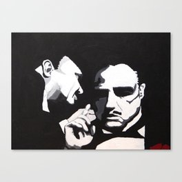 The Godfather - Secrets Canvas Print