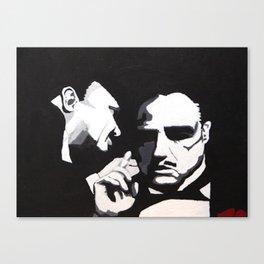 The Godfather - Secrets Canvas Print