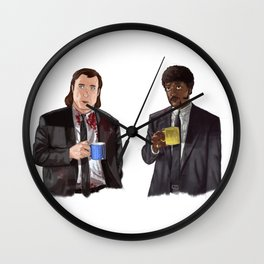 Pulp Fiction - Jimmy's Coffee Wall Clock