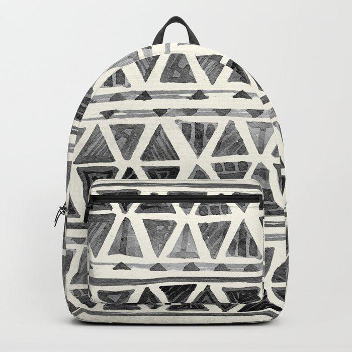 Tribal Geometric Chevron Stripes Backpack