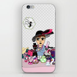 Shawna from The Sweety Peas iPhone Skin