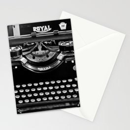 Vintage Typewriter Stationery Cards