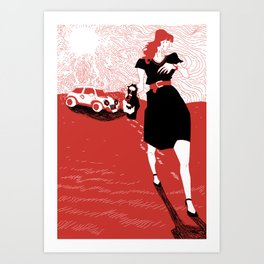 Canicola Art Print