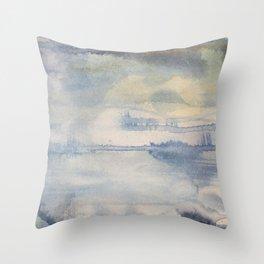 Evening Strands Throw Pillow