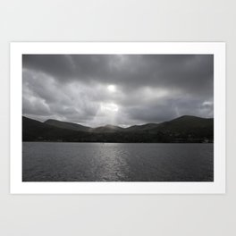 Snowdonia Mountains, Wales #1 Art Print