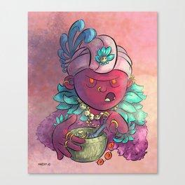 Voodoo Queen Canvas Print