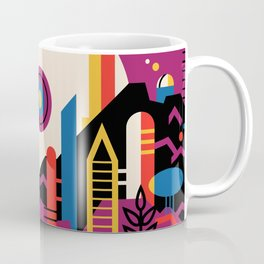 NASA Retro Space Travel Poster #9 Mars Coffee Mug