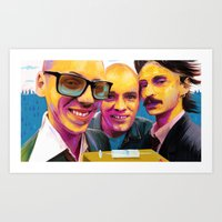 trainspotting Art Prints featuring Trainspotting by Zmudart
