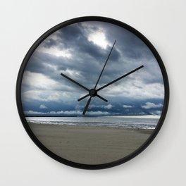 Cedar Point Beach, Sandusky Ohio Wall Clock