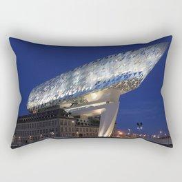 The Antwerp Port House | Zaha HADID architect Rectangular Pillow