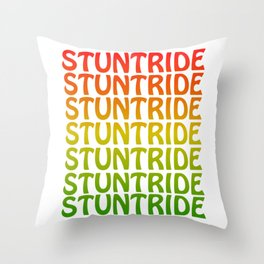 Fan of stunt routines and rides? Grab this colorful and creative tee design made perfectly for you!  Throw Pillow