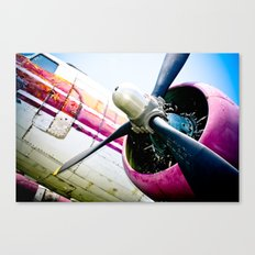 C160 Military Transport Airplane Canvas Print