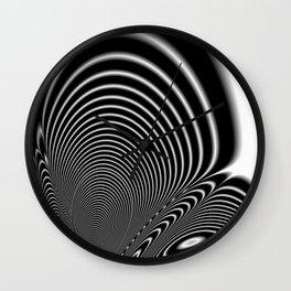 Fractal Op Art 6 Wall Clock