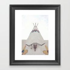 Tucumcari Curiosities Framed Art Print