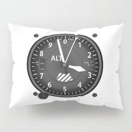 Altimeter Flight Instruments Pillow Sham