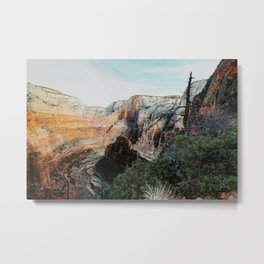 in the canyon Metal Print