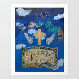 God' Story Art Print