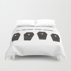 Four Coffins... Duvet Cover