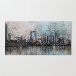 Austin, TX - Painting Canvas Print