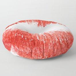 Lips Illustration, Red Lipstiick for Girls, Home Decor, Wall ART ,Poster, Mugs,iPhone Case Floor Pillow