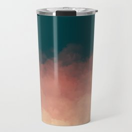 Retro Clouds Travel Mug