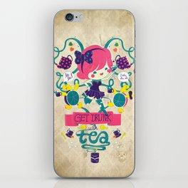 Tea party iPhone Skin