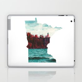 Minnesota-Split Rock Lighthouse at Lake Superior Laptop & iPad Skin