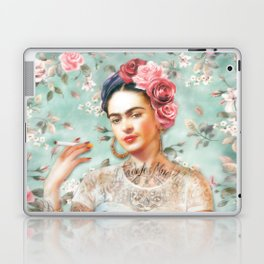 Frida's Exotic Cat Laptop & iPad Skin