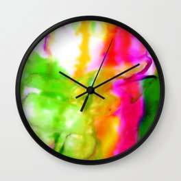 Abstract Bliss 5F by Kathy Morton Stanion Wall Clock