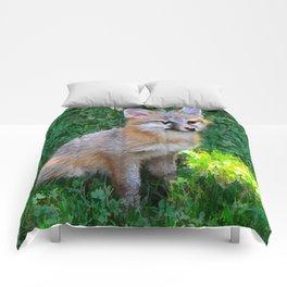 Little Grey Fox Comforters