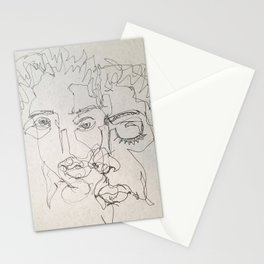 Blind Contour Stationery Cards