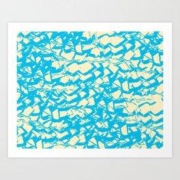 shell pattern Art Print