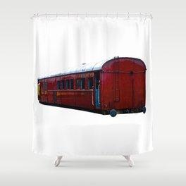 Train Carriage Shower Curtain