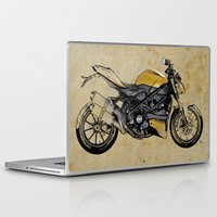 ducati Laptop & iPad Skins featuring Ducati Streetfighter 848, 2012 by Larsson Stevensem