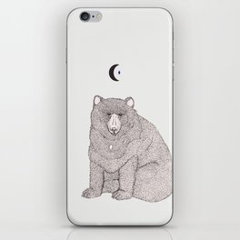Moon Bear iPhone Skin
