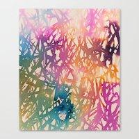 sparkle Canvas Prints featuring Sparkle by zeze