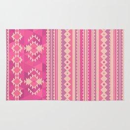 Pink Aztec Rug