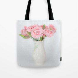 Pink Carnations 1 Tote Bag