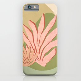 Pink Seagrass iPhone Case