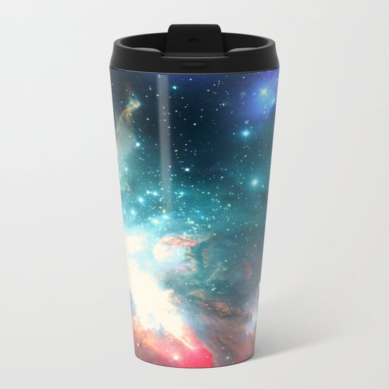 Echoes of the Stars Metal Travel Mug