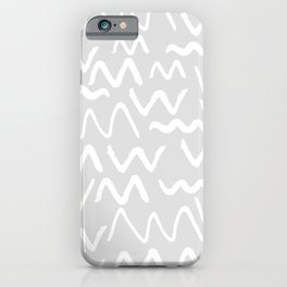 Issa Squiggle iPhone Case